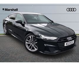 USED 2021 AUDI A7 45 TFSI 265 QUATTRO BLACK EDITION 5DR S TRONIC HATCHBACK 4,000 MILES IN