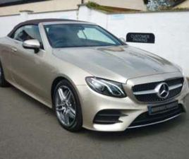 E CLASS CONVERTIBLE AMG LINE AUTO USED CARS 2-DOOR