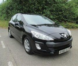 USED 2010 PEUGEOT 308 1.6 HDI S 5 DOOR HATCHBACK 112,407 MILES IN BLACK FOR SALE | CARSITE