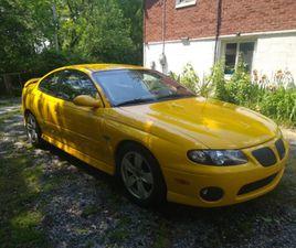 2004 PONTIAC GTO 2 DOOR COUPE