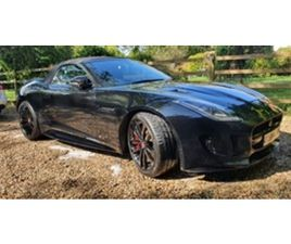 USED 2016 JAGUAR F-TYPE V8 R AWD CONVERTIBLE 25,000 MILES IN BLACK FOR SALE | CARSITE