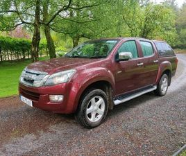ISUZU D-MAX YUKON AUTOMATIC LOW MILES REDUCED FOR SALE IN TIPPERARY FOR €16,500 ON DONEDEA