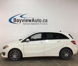 USED 2019 MERCEDES-BENZ B-CLASS SPORTS TOURER - 4MATIC! LEATHER! NAV! PANOROOF!