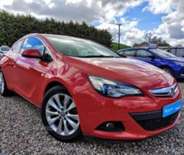 USED 2013 VAUXHALL GTC SRI S/S HATCHBACK 63,291 MILES IN RED FOR SALE | CARSITE