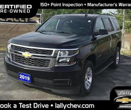 USED 2019 CHEVROLET TAHOE LS*4X4*5.3L V8*REMOTE START*BACK UP CAMERA*TOUCH S