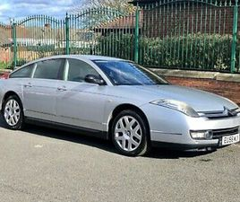 2006 CITROEN C6 2.7 HDI V6 AUTO EXCLUSIVE IN SILVER, PX SWAP UP DOWN