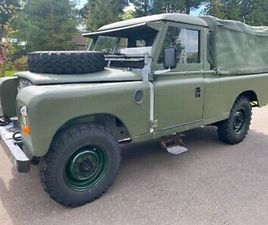 1982 LAND ROVER 109 SERIES 3 EX MILITARY *** NEW CHASSIS AND BULKHEAD***