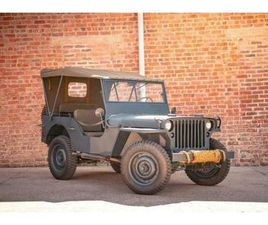 FULLY RESTORED, GENUINE 1944 WILLYS MB JEEP