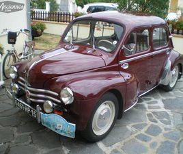 RENAULT 4CV LUXE - 1960