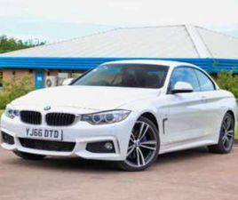 BMW 4 CONVERTIBLE 420D 2.0 M SPORT 2DR AUTO PLUS PACK PRO NAV COMFORT PACK
