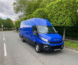 2015 IVECO DAILY S CLASS 2.3TD 35S13V 4100 H2 PANEL - £10,000