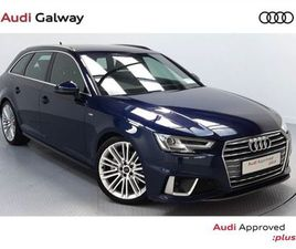 AUDI A4 AVANT 2.0TDI 190BHP S LINE AUTO ESTATE FOR SALE IN GALWAY FOR €41,900 ON DONEDEAL