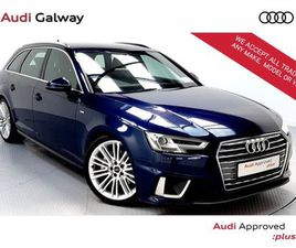 AUDI A4 AVANT 2.0TDI 190BHP S LINE AUTO ESTATE FOR SALE IN GALWAY FOR €42,900 ON DONEDEAL