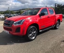 USED 2019 ISUZU D-MAX 1.9 FURY DOUBLE CAB 4X4 NOT SPECIFIED 14,760 MILES IN RED FOR SALE |