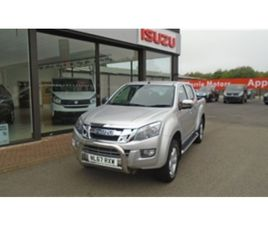 USED 2017 ISUZU D-MAX TD YUKON DCB 4-DOOR NOT SPECIFIED 60,335 MILES IN SILVER FOR SALE  