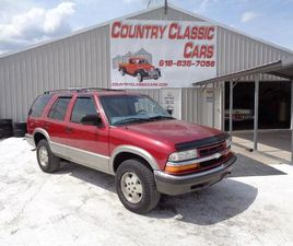 2000 CHEVROLET S10 FOR SALE