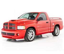 2004 DODGE RAM SRT10 - 6SPD MANUAL, ONE OWNER FROM NEW