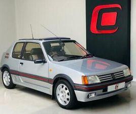 1989 F PEUGEOT 205 1.9 GTI 3D 130 BHP