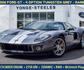 2006 FORD GT 4 OPTION TUNGSTEN GREY | CERAMIC | 2750 KMS | RARE | CARS & TRUCKS | CITY OF