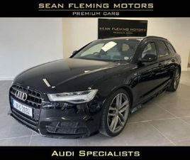 AUDI A6 AVANT 2.0 TDI 190 BLACK EDITION S-TRONIC FOR SALE IN GALWAY FOR €36,950 ON DONEDEA