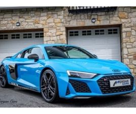 USED 2021 AUDI R8 PRFRM CARBN BLK V10 QU COUPE 1,000 MILES IN BLUE FOR SALE   CARSITE