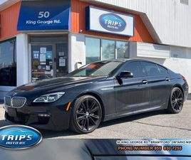 USED 2017 BMW 6 SERIES 4DR SDN 650I XDRIVE AWD GRAN COUPE| M PACKAGE