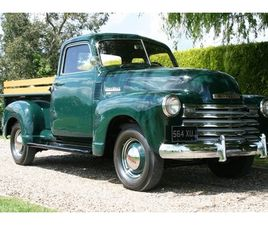 CHEVROLET 3100 PICK UP TRUCK. INCREDIBLE RESTORATION TO CONCOURS STANDARD