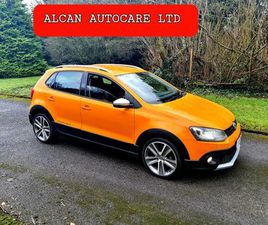 12 VW CROSS POLO 1.2TSI .. AUTOMATIC FOR SALE IN DUBLIN FOR €8,999 ON DONEDEAL