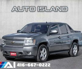 USED 2007 CHEVROLET AVALANCHE 4WD CREW CAB