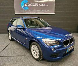 2012 BMW X1 2.0TD XDRIVE18D M SPORT - £8,995