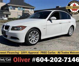 2007 BMW 3 SERIES SEDAN CLEAN, AFFORDABLE LUXURY!