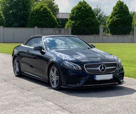 2019 MERCEDES-BENZ E220 D AMG CONVERTIBLE FOR SALE IN KILDARE FOR €49,995 ON DONEDEAL