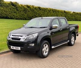 USED 2015 ISUZU D-MAX YUKON TWIN TURBO D/ NOT SPECIFIED 85,000 MILES IN BLACK FOR SALE   C