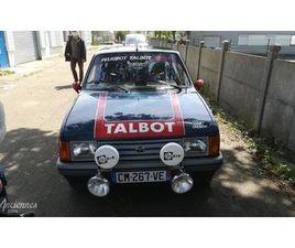 TALBOT SAMBA GLS VERSION RALLY - 1982