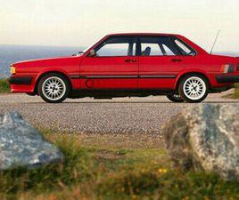 1984 AUDI 80 SPORT 1.8I