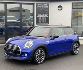 USED 2019 MINI HATCH EXCLUSIVE HATCHBACK 30,000 MILES IN BLUE FOR SALE | CARSITE
