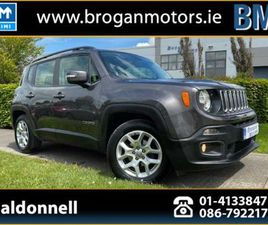 JEEP RENEGADE, 2018 1.6 M/JET LONITUDE*NAV*SUV* FOR SALE IN DUBLIN FOR €19,995 ON DONEDEAL