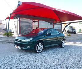 PEUGEOT 206 CC 1.6 ROLAND GARROS A GASOLINA NA AUTO COMPRA E VENDA