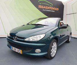 PEUGEOT 206 CC 1.6 16V ROLAND GARROS A GASOLINA NA AUTO COMPRA E VENDA