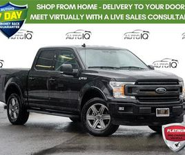 USED 2020 FORD F-150 XLT LEATHER | SPRAY LINER | SPORT | NAVI | 20 | 2.7L