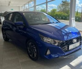USED 2021 HYUNDAI I20 SE CONNECT MHEV T-GDI HATCHBACK 100 MILES IN BLUE FOR SALE | CARSITE