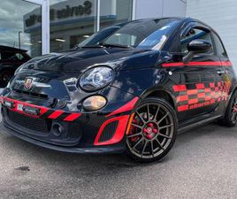 USED 2016 FIAT 500 ABARTH - MANUAL, BLUETOOTH, FRONT WHEEL DRIVE, GREAT EYE BALL
