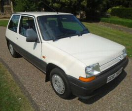 1989 RENAULT 5 1.4 AUTOMATIC, 40000 MILES, POWER STEERING. STUNNING CAR!!