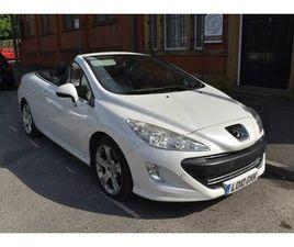 2010 PEUGEOT 308 CC 2.0TD GT (140BHP) - £3,900