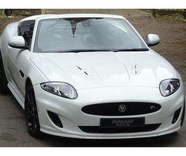 2011 JAGUAR XKR 5.0 S/C CONVERTIBLE AUTO - £33,995
