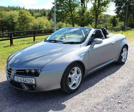 ALFA ROMEO SPIDER CONVERTIBLE 2007 FOR SALE IN CORK FOR €9,500 ON DONEDEAL