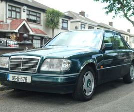 W124 MERCEDES E220 1995 NCT TIL 01/22 FOR SALE IN DUBLIN FOR €3,000 ON DONEDEAL