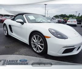 WHITE COLOR 2019 PORSCHE 718 BOXSTER BASE FOR SALE IN KNOXVILLE, TN 37912. VIN IS WP0CA2A8