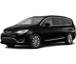 BLACK COLOR 2018 CHRYSLER PACIFICA TOURING-L FOR SALE IN SILVER SPRING, MD 20904. VIN IS 2