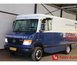 ② MERCEDES-BENZ VARIO CASH IN TRANSIT ARMORED VEHICLE MONEY TR - CAMIONNETTES & UTILITAIRE